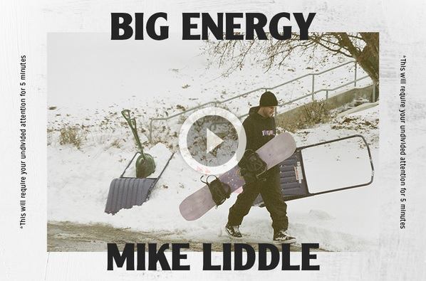 Video – Arbor: Big Energy/Mike Liddle