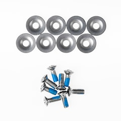 Gravity Binding Screws silver 2020/2021