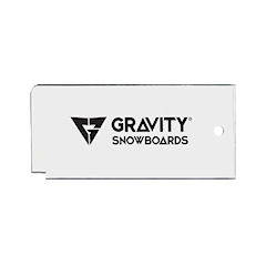 Gravity Wax Scraper clear 2020/2021