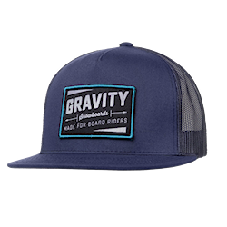Gravity Jeremy Trucker blue 2017