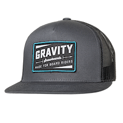 Gravity Jeremy Trucker grey 2017