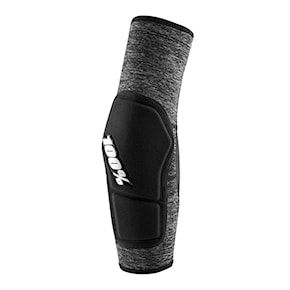 100% Ridecamp Elbow Guard grey heather/black 2021