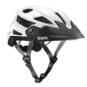 Helmet Bern Fl-1 Trail gloss white 2021