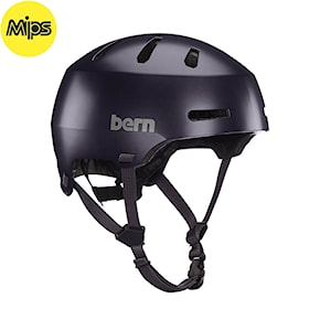 Helmet Bern Macon 2.0 Mips satin deep purple 2021