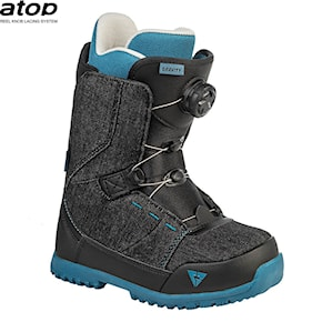 Boots Gravity Micro Atop black denim 2020/2021