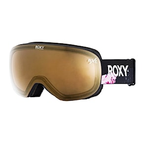 Goggles Roxy Popscreen true black blooming party 2020/2021