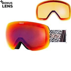 Goggles Roxy Rosewood Popsnow true black pop flowers 2020/2021
