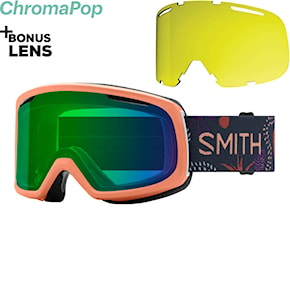 Goggles Smith Riot salmon bedrock 2020/2021