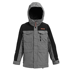 Přejít na produkt Bunda Burton Boys Covert heather bog/true black 2020/2021