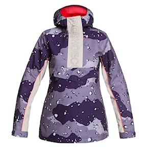 Bunda DC Envy Anorak chocolate chip grapescale camo 2020/2021