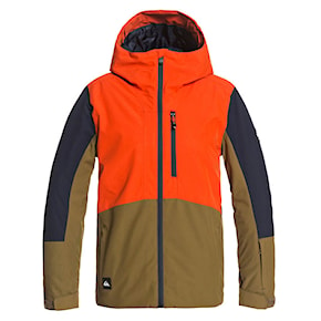 Bunda Quiksilver Ambition Youth pureed pumpkin 2020/2021