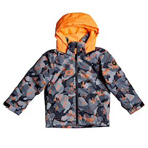 Bunda Quiksilver Little Mission Kids shocking orange wichita 2020/2021