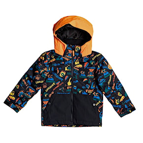 Bunda Quiksilver Little Mission Kids true black ski fun 2020/2021