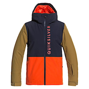 Jacket Quiksilver Side Hit Youth pureed pumpkin 2020/2021