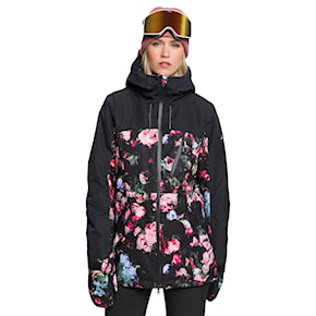 Jacket Roxy Stated Parka true black blooming party 2020/2021