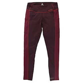 Kalesony Burton Wms Midweight X Pant port royal/spiced plum 2020/2021