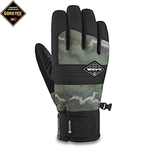 Gloves Dakine Bronco Gore-Tex olive ashcroft camo/black 2020/2021