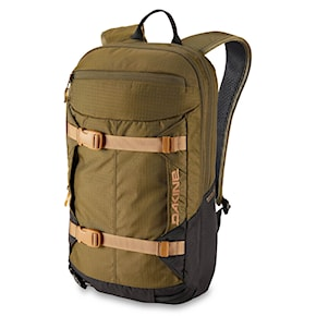 Snowboard backpack Dakine Mission Pro 18L dark olive/black 2020/2021
