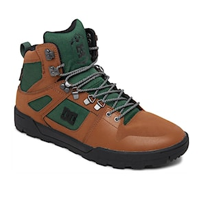 Zimní boty DC Pure High-Top WR brown/green/black 2020