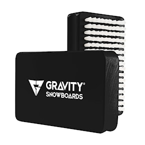 Gravity Wax Brush black/white 2020/2021
