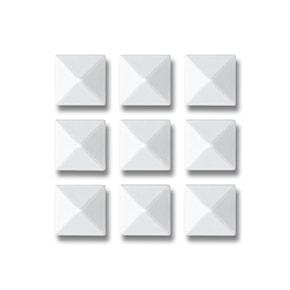 Grip Gravity Pyramid Studs white 2020/2021