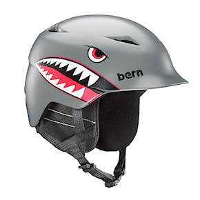 Kask Bern Camino satin grey flying tiger 2020/2021