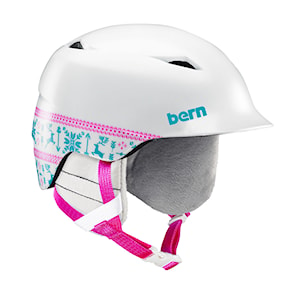 Kask Bern Camino satin white fair isle 2020/2021