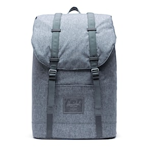 Batoh Herschel Retreat Light raven crosshatch 2020