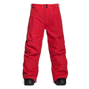 Pants Horsefeathers Spire Youth red 2020/2021