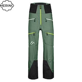 Pants Ortovox Guardian Shell green forest 2020/2021