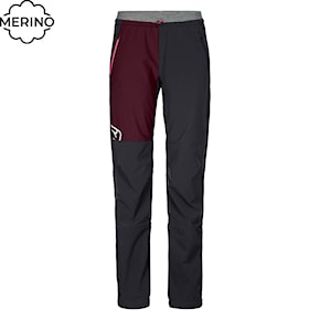 Pants Ortovox Wms Berrino black raven 2020/2021
