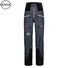 Pants Ortovox Wms Guardian Shell black steel 2020/2021