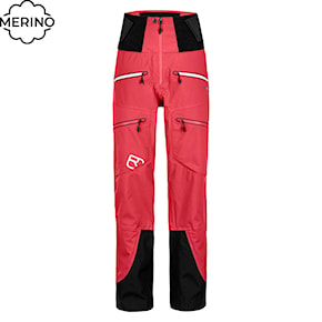 Pants Ortovox Wms Guardian Shell hot coral 2020/2021