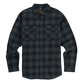 Košeľa Burton Brighton Flannel true black heather buffalo 2020/2021