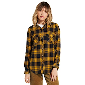 Košile Volcom Getting Rad Plaid L/s golden haze 2020