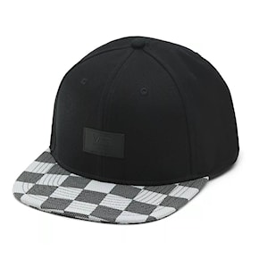 Kšiltovka Vans Allover It black white checker 2021