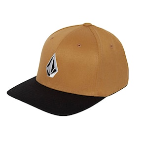 Kšiltovka Volcom Full Stone Xfit golden brown 2021
