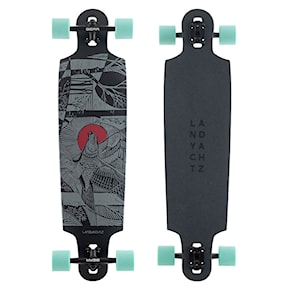 Longboard Landyachtz Drop Cat Seeker Black 38 2021