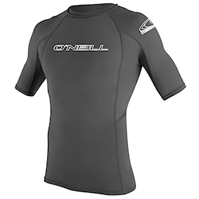 Lycra O'Neill Basic Skins S/s Rash Guard graphite 2021