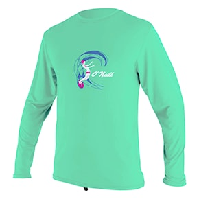Lycra O'Neill Toddler O'zone L/S Sun Shirt Gir light aqua 2020