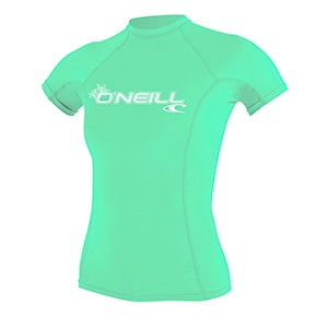 Lycra O'Neill Wms Basic Skins S/S Rash light aqua 2020