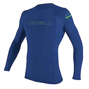 Lycra O'Neill Youth Basic Skins L/s Rash pacific 2020