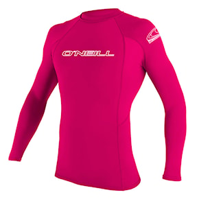 Lycra O'Neill Youth Basic Skins L/s Rash watermelon 2020