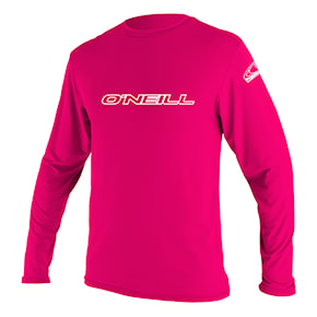 Lycra O'Neill Youth Basic Skins L/S Sun Shirt watermelon 2018