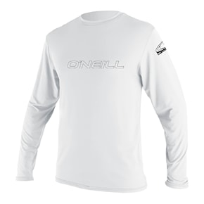 Lycra O'Neill Youth Basic Skins L/s Sun Shirt white 2021