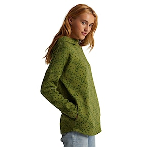 Mikina Burton Hixon Pullover pesto green heather faded dot 2020