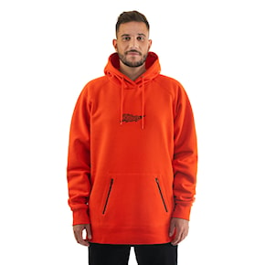 Hoodie Horsefeathers Mykel tomato red 2021