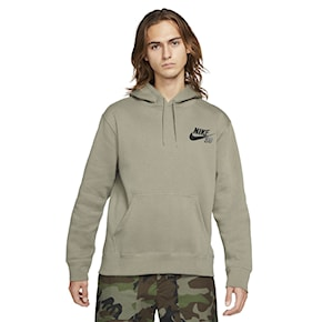 Mikina Nike SB Icon Hoodie light army/black 2021