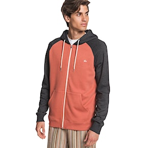 Mikina Quiksilver Everyday Zip redwood 2021
