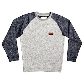 Bluza Quiksilver Keller Block Crew Youth light grey heather 2019